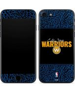 Golden State Warriors Elephant Print iPhone 7 Skin