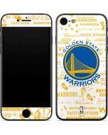 Golden State Warriors Historic Blast iPhone 7 Skin