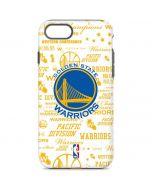 Golden State Warriors Historic Blast iPhone 8 Pro Case