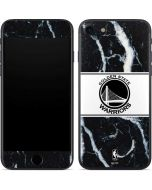 Golden State Warriors Marble iPhone 7 Skin