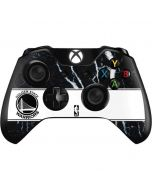 Golden State Warriors Marble Xbox One Controller Skin