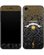 Golden State Warriors Pixels iPhone 7 Skin