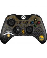 Golden State Warriors Pixels Xbox One Controller Skin