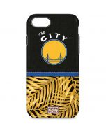 Golden State Warriors Retro Palms iPhone 8 Pro Case