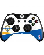 Golden State Warriors Split Xbox One Controller Skin