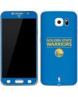 Golden State Warriors Standard - Blue Galaxy S6 Skin