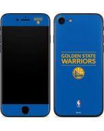 Golden State Warriors Standard - Blue iPhone 7 Skin