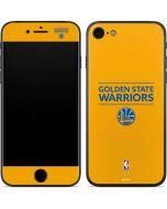 Golden State Warriors Standard - Yellow iPhone 7 Skin