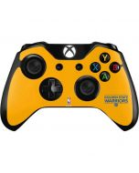 Golden State Warriors Standard - Yellow Xbox One Controller Skin