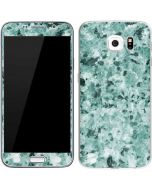 Graphite Turquoise Galaxy S6 Skin