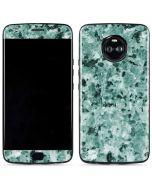 Graphite Turquoise Moto X4 Skin