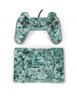 Graphite Turquoise PlayStation Classic Bundle Skin