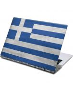Greece Flag Distressed Yoga 910 2-in-1 14in Touch-Screen Skin