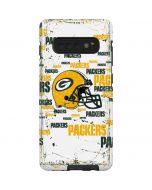 Green Bay Packers - Blast Galaxy S10 Plus Pro Case