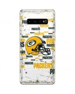 Green Bay Packers - Blast Galaxy S10 Plus Skin
