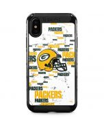 Green Bay Packers - Blast iPhone XS Cargo Case