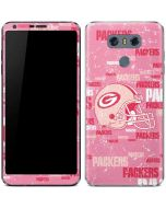 Green Bay Packers - Blast Pink LG G6 Skin