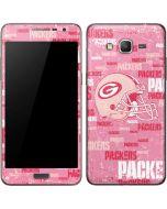Green Bay Packers - Blast Pink Galaxy Grand Prime Skin