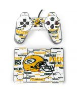 Green Bay Packers - Blast PlayStation Classic Bundle Skin