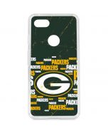 Green Bay Packers Blast Google Pixel 3 XL Clear Case