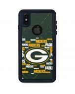 Green Bay Packers Blast iPhone X Waterproof Case
