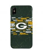 Green Bay Packers Blast iPhone XS Max Lite Case