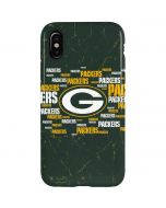 Green Bay Packers Blast iPhone XS Pro Case