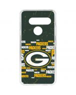 Green Bay Packers Blast LG V40 ThinQ Clear Case