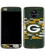 Green Bay Packers Blast Moto X4 Skin