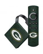 Green Bay Packers Distressed Amazon Fire TV Skin