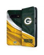 Green Bay Packers Galaxy S10 Plus Folio Case