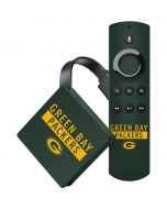 Green Bay Packers Green Performance Series Amazon Fire TV Skin