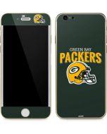 Green Bay Packers Helmet iPhone 6/6s Skin