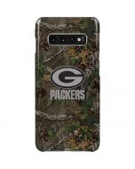 Green Bay Packers Realtree Xtra Green Camo Galaxy S10 Plus Lite Case
