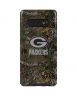 Green Bay Packers Realtree Xtra Green Camo Galaxy S10 Plus Pro Case