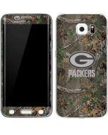 Green Bay Packers Realtree Xtra Green Camo Galaxy S6 Edge Skin