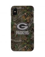 Green Bay Packers Realtree Xtra Green Camo iPhone XS Max Lite Case