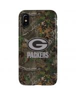 Green Bay Packers Realtree Xtra Green Camo iPhone XS Max Pro Case