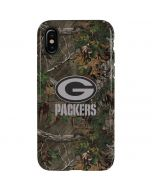 Green Bay Packers Realtree Xtra Green Camo iPhone XS Pro Case