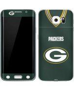 Green Bay Packers Team Jersey Galaxy S6 Edge Skin