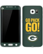Green Bay Packers Team Motto Galaxy S6 Edge Skin