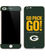 Green Bay Packers Team Motto iPhone 6/6s Plus Skin