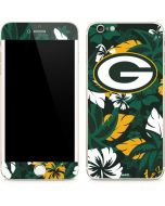 Green Bay Packers Tropical Print iPhone 6/6s Plus Skin