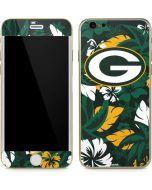 Green Bay Packers Tropical Print iPhone 6/6s Skin