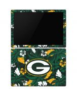 Green Bay Packers Tropical Print Surface Pro 6 Skin