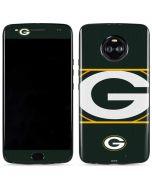 Green Bay Packers Zone Block Moto X4 Skin