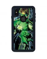 Green Lantern and Villains iPhone XS Waterproof Case