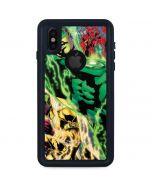Green Lantern Defeats Sinestro iPhone XS Waterproof Case