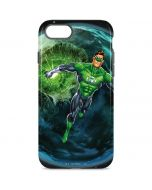 Green Lantern in Space iPhone 8 Pro Case