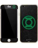 Green Lantern Logo Black iPhone 6/6s Skin